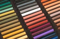 Reeks van zachte pastelkleur Stock Foto