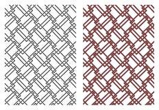 Reeks vector naadloze Keltische ontwerpelementen Stock Afbeelding