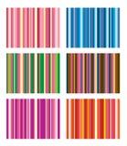Reeks vectorstreepregelingen Stock Foto
