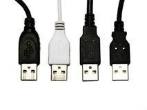 Reeks verschillende schakelaars USB Royalty-vrije Stock Foto