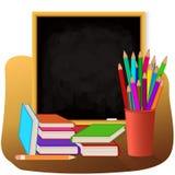 reeks verschillende schoolpunten, vectorillustratie Stock Afbeelding