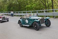 Reeks VIII van Lancia Lambda 221S Spin in verzameling Mille Miglia 2013 Stock Afbeeldingen