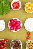 De salade van de lente Royalty-vrije Stock Foto