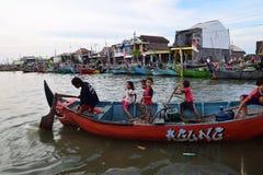 Reeks weg voor visserij Royalty-vrije Stock Afbeeldingen