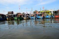 Reeks weg voor visserij Royalty-vrije Stock Foto's