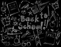 Reekstekens voor Ontwerp terug naar School het Mengen Wijze stock illustratie