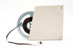Reel of audio tape Royalty Free Stock Image