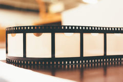 Reel of film close up photo Stock Image