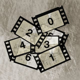 Reel film counter Royalty Free Stock Images