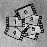 Reel film counter Royalty Free Stock Image