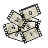 Reel film counter Royalty Free Stock Photography