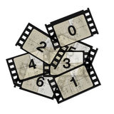 Reel film counter Royalty Free Stock Photo