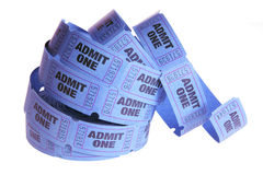 Reel of Movie Tickets Royalty Free Stock Images
