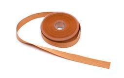 Reel of orange ribbon Royalty Free Stock Image
