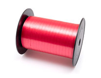 Reel of pink ribbon isolated Stock Photography