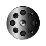 Reel tape record isolated icon Stock Image