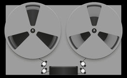 Reel tape recorder Royalty Free Stock Photography