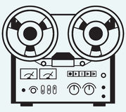 Reel tape recorder Stock Image