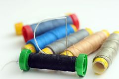 Reel of thread Stock Images
