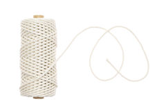 Reel of thread. On a white background Royalty Free Stock Photos