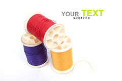 Reel of thread Royalty Free Stock Photo