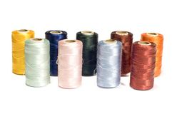 Reel of thread stock photography