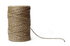 Reel of thread isolated on white Royalty Free Stock Photography