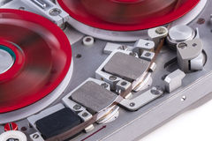 Reel to reel audio tape recorder mc 2 Royalty Free Stock Photos