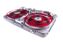 Reel to reel audio tape recorder wsr 2 Stock Photo