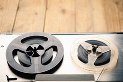 Reel to reel tape player and recorder Royalty Free Stock Photography