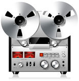 Reel to Reel Tape Recorder stock illustration