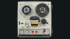 Reel-to-reel tape recorder 6 Stock Image