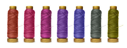 Reels Of Thread Royalty Free Stock Image