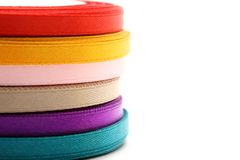 Reels of ribbon Stock Image