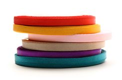 Reels of ribbon Stock Photography