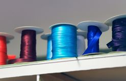 Reels of Ribbons Royalty Free Stock Photography
