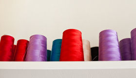 Reels of Threads Stock Photo