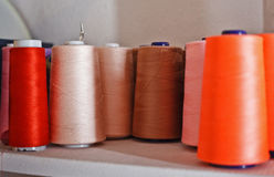 Reels of Threads Royalty Free Stock Photo