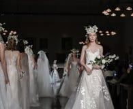 Reem Acra Bridal SS 2019 Lizenzfreies Stockfoto