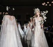 Reem Acra Bridal SS 2019 Lizenzfreie Stockfotografie