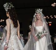 Reem Acra Bridal SS 2019 Lizenzfreie Stockbilder