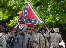 Reenactment гражданской войны Стоковые Фотографии RF