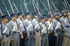 Reenactment of the Battle of Manassas Royalty Free Stock Photos