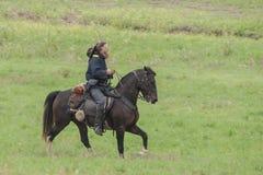Reenactment da guerra civil Fotografia de Stock Royalty Free