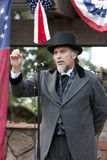 Reenactment da guerra civil de Moorpark Foto de Stock