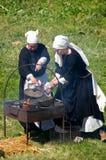 Reenactment histórico Imagem de Stock Royalty Free
