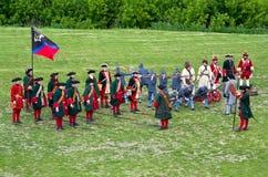 Reenactment histórico Fotos de Stock Royalty Free