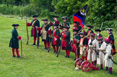 Reenactment histórico Imagens de Stock Royalty Free