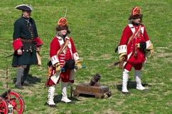 Reenactment histórico Foto de Stock