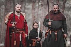 Reenactment histórico medieval Fotografia de Stock Royalty Free